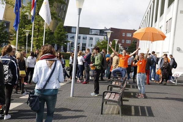 Студенты Hanze University (Гронинген, Нидерланды)