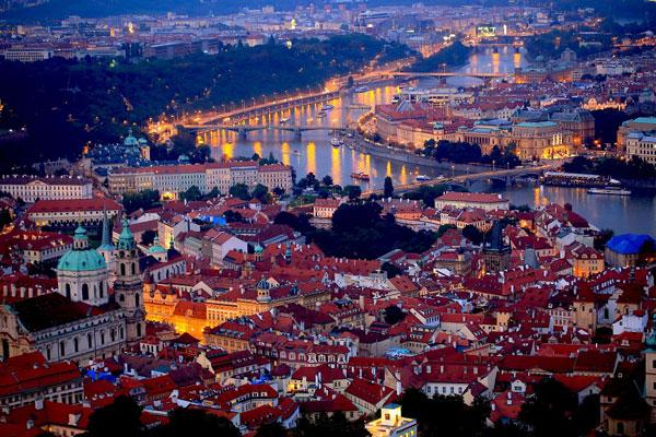 Прага занимает первое место в рейтинге