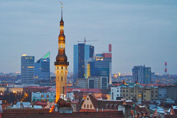 Таллин - столица Эстонии
