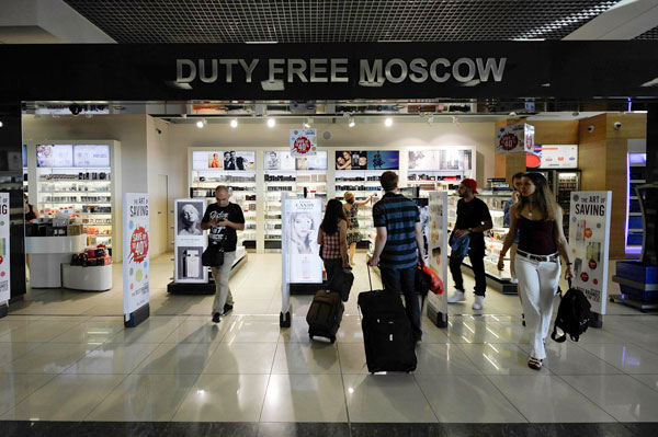 Магазин Duty Free. Аэропорт Шереметьево, Москва